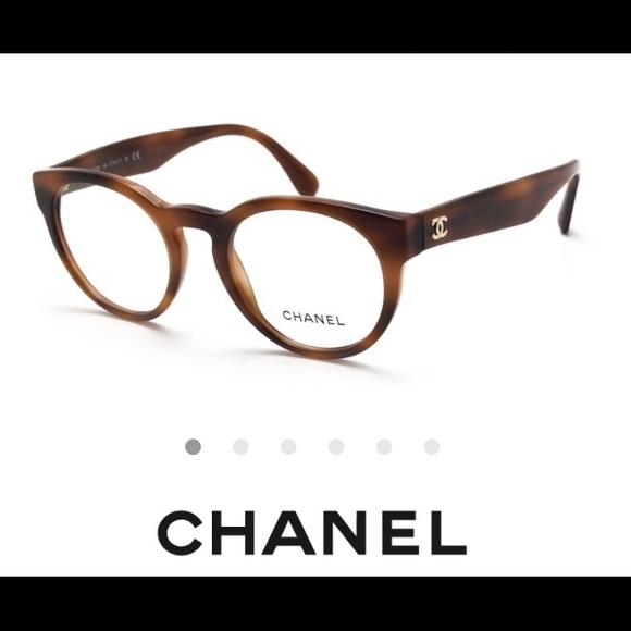 0758922bd42 Authentic Chanel Tortoise Eye Glasses Frames
